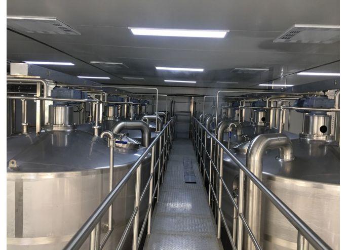 鄂尔多斯蒙纯乳业每日50吨吨酸奶前处理项目